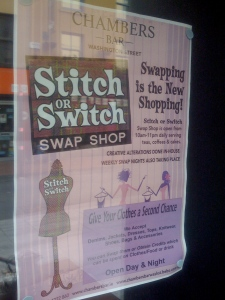 Chambers Bar - Stitch or Switch Swap Shop