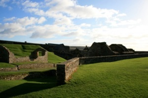 A view from within Charles Fort - It is bigger than it seems!