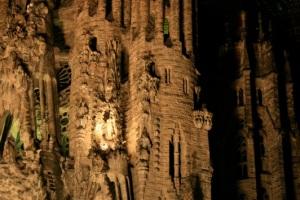 La Sagrada Familia By Antonio Gaudi