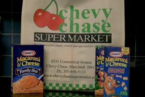 Kraft Macaroni & Cheese from Chevy Chase Supermarket