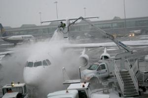 Dublin Airport, this morning