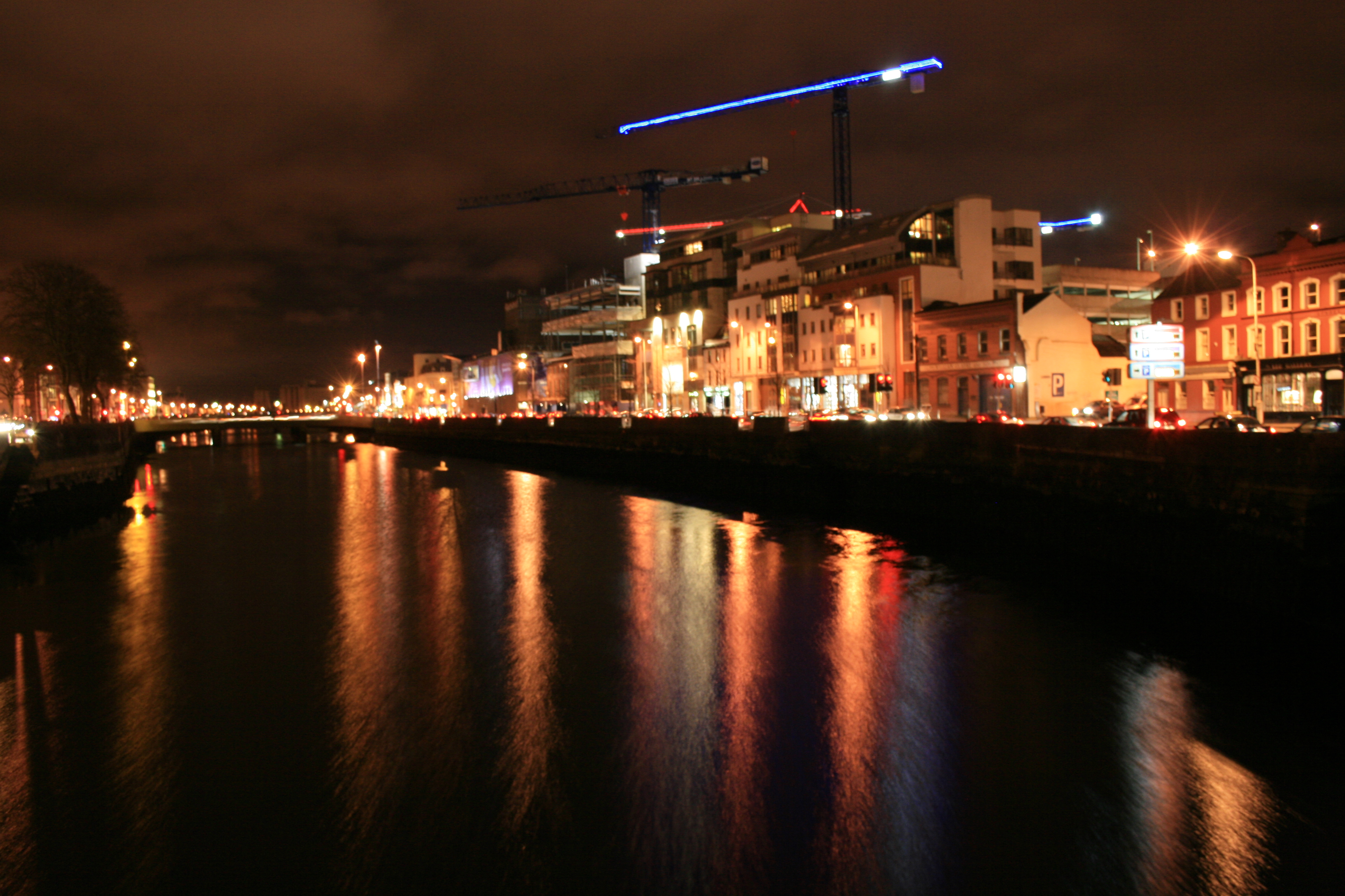 Image result for cork city at night