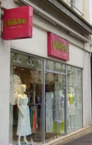 Phildar on Rue de Siam in downtown Brest