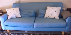 Our beloved IKEA Nikkala Sofa will be loved by someone else from now on