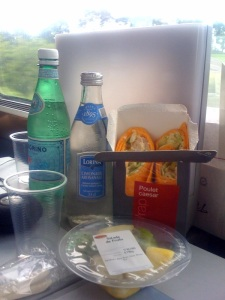 Lunch on the TGV