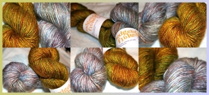 Swamp Silk & Opalite Silk/Merino from Hedgehog Fibres