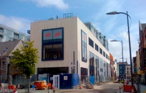 H&M on Academy Lane by Cork Opera House and the Crawford Gallery