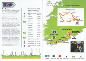 Stage Three of Tour of Ireland 2009