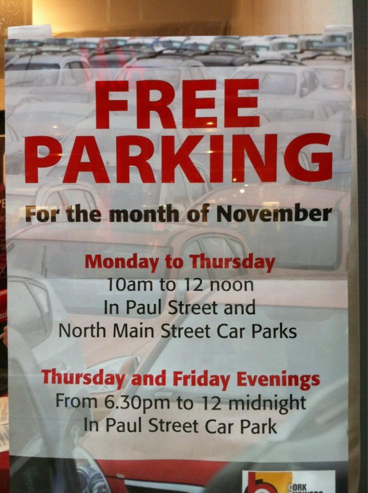 Paul Street Free Parking Nov 2011