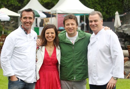 Catherine Fulvio, Derry Clarke, Kevin Dundon and Jamie Oliver