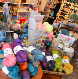 Vivi's Trading in Kinsale with Smudge Yarns