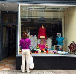 Cork Wools local yarn store on Castle Street in Cork