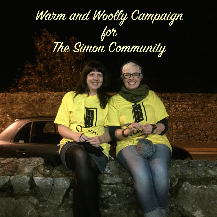 Olann and announces the launch of the Warm and Woolly campaign for the Simon Community