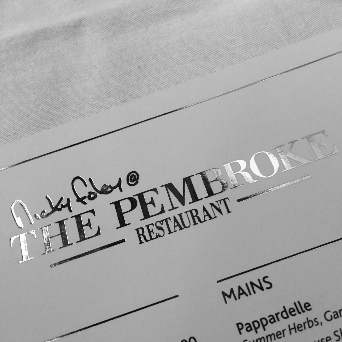 Ingredients and Care in the Kitchen with Chef Nicky at The Pembroke in The Imperial Hotel