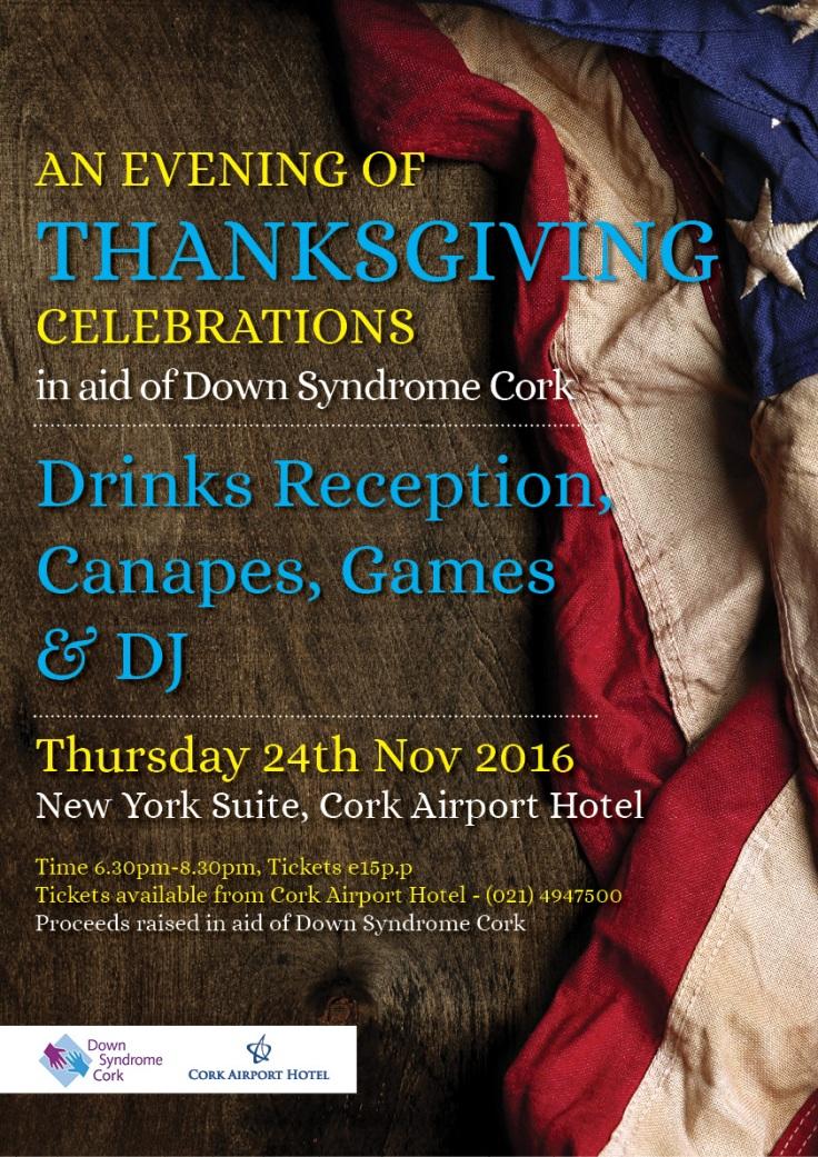 Thanksgiving 2016 at Cork Airport Hotel   40 Shades of Life