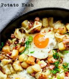 Potato Hash for Brunch at White Rabbit in Cork City | 40 Shades of Life