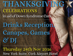Thanksgiving 2016 at Cork Airport Hotel | 40 Shades of Life