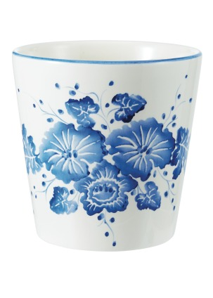 Homesense_Blue and White Floral Pot_€6.99