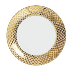 Homesense_Gold Trimmed Plate_€6.99