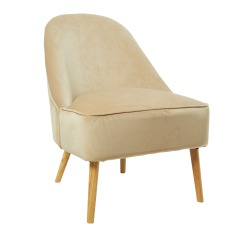 Homesense_Tan Suede Chair_€179.99