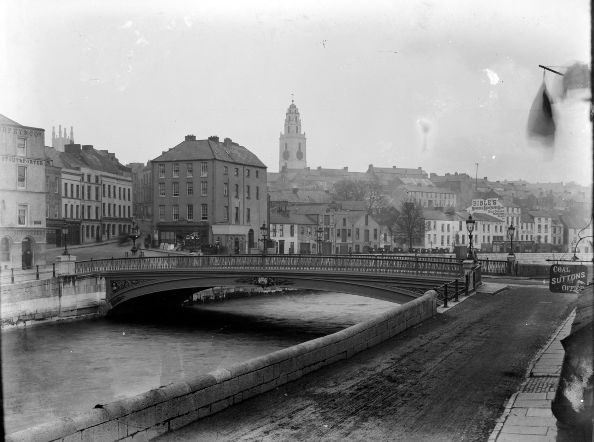 Old Cork City Photos from National Library of Ireland