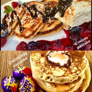 Pancakes at The Parlour Cafe, Cork city