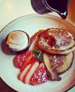 Pancakes at The Oyster Tavern, Cork city